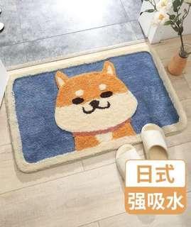 日式強吸水地毯