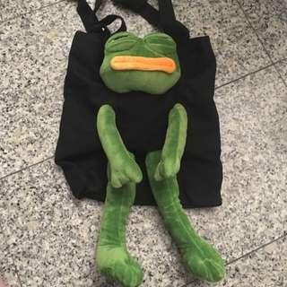 🚚 Pepe meme tote bag toy
