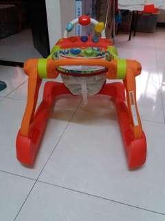 創寶貝二合一學步車