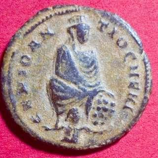 🚚 Roman Coin commemorating Christian persecutions, Stunning Example. 310 - 313 AD
