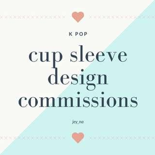 Design Commission - Cup sleeve
