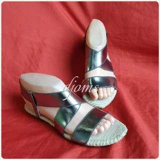🛑Sz 5.5 Michael Kors MK Espadrilles Flats Sandals