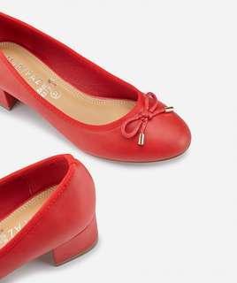 歐洲品牌 Marypaz 紅色 平底鞋 高跟鞋 返工鞋 出街鞋 36 37 38  30 40 號