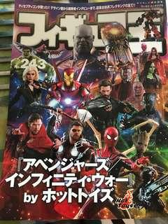 Hottoys infinity war 雜誌
