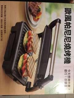 🚚 歐風帕尼尼燒烤機(全新)