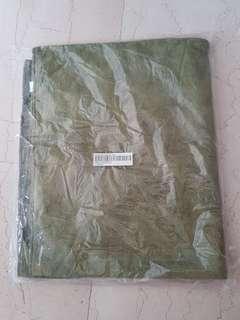 NS Army Green Microfiber Bath Towel