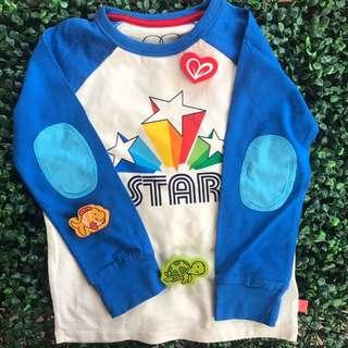 MOTHERCARE (Star) LS Cotton Tshirt