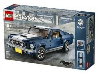 🚚 BNIB LEGO CREATOR EXPERT FORD MUSTANG (2019) 10265