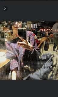 正韓毛衣 紅紫