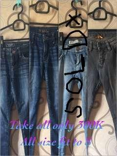 Mix jeans
