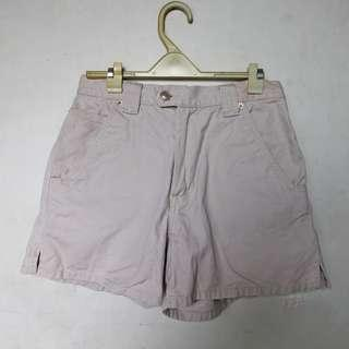 Safari style highwaist shorts in oatmeal white