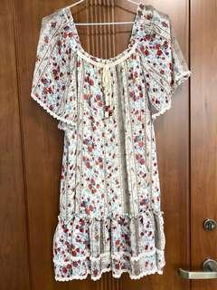 🚚 日本購入民俗風洋裝