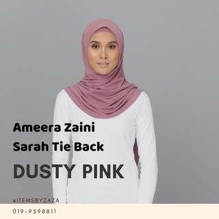 SARAH TIE BACK - DUSTY PINK