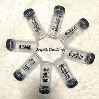 Personalized/Customized Plastic Water Bottle