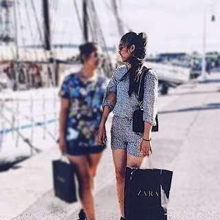 🚚 ZARA 露背連身衣 西班牙當地購入🇪🇸