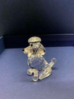 Swarovski 水晶擺設 Poodle