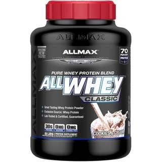 🚚 💥CHEAPEST💥  AllWhey Classic, 100% Whey Protein, Cookies & Cream, 5 lbs. (2.27 kg)