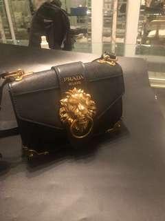 Prada Cahier Lion Bag - Limited Edition