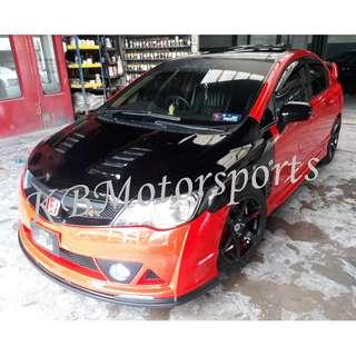 Honda Civic FD MugenRR Bodykits With Spray Color