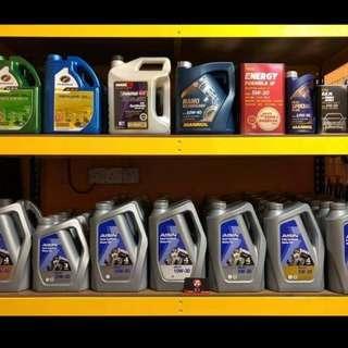 Engine Oil / Minyak Hitam / Pelincir