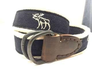 Genuine Abercrombie and Fitch belt