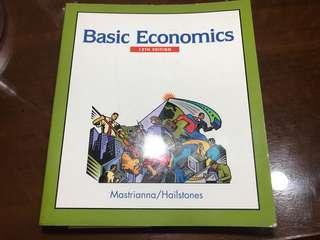 🚚 BASIC Economics
