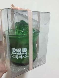 🚚 漂浮蠟燭 玻璃造型杯