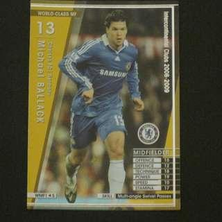 08/09 Panini WCCF Refractor Card World-Class MF - Michael BALLACK #Chelsea