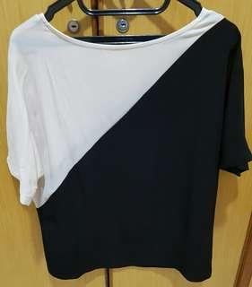 Black Top ( n Broken White)