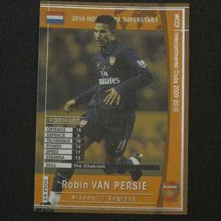 09/10 Panini WCCF Refractor Card Holland Superstar - Robin VAN PERSIE #Arsenal #Holland #Netherlands