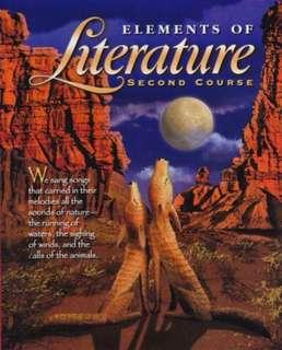 🚚 Elements of Literature (second course)