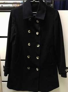 Coat 雙排鈕扣大褸