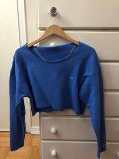 Vintage rework Champion cropped sweater