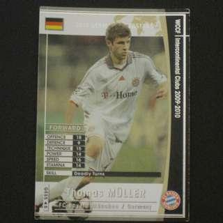 09/10 Panini WCCF Refractor Card German Superstar - Thomas MULLER #Bayern Munich #Germany