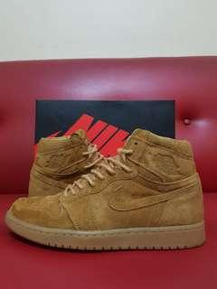 Original Nike Air Jordan Retro Hi OG Wheat