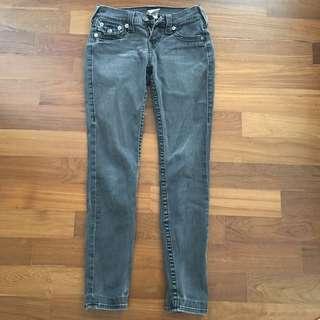 True Religion Grey Jeans #FEBP55