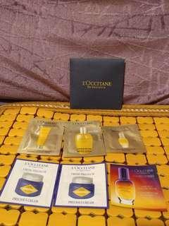 L'Occitane samples(包平郵)
