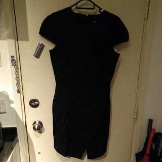 Asos black work dress