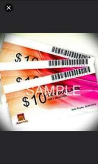 WTT Asiamalls vouchers