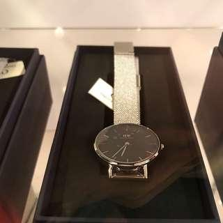 Daniel Wellington watch original silver metal