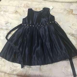 Estrella - Navy Blue Dress