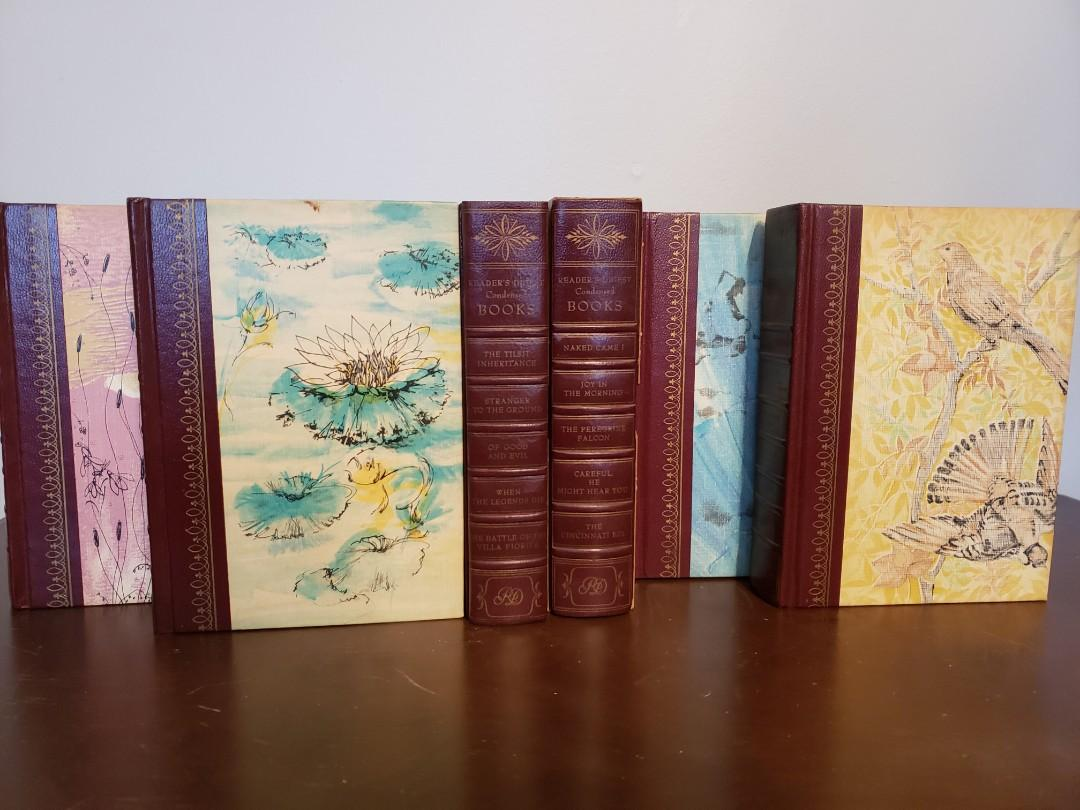 60's Vintage Readers Digest Book Set
