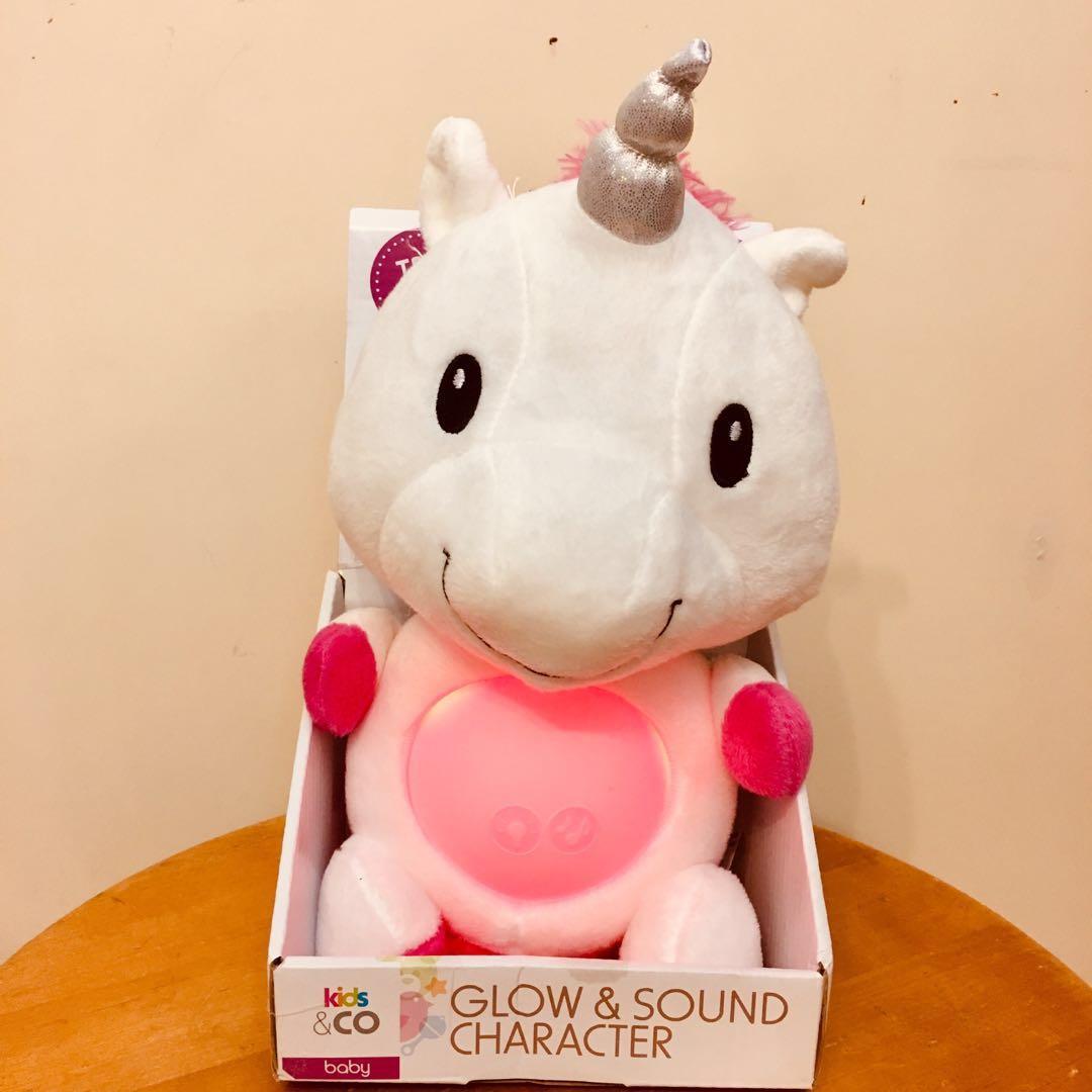 全新發光發聲嬰兒安撫公仔 (Glow & Sound Character)