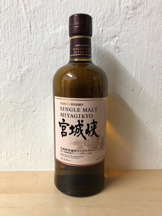 宮城峽 NAS 700ml 無年份 單一麥芽 nikka miyagikyo Japanese single malt whisky 日光 余市 竹鶴17 同廠 日本威士忌