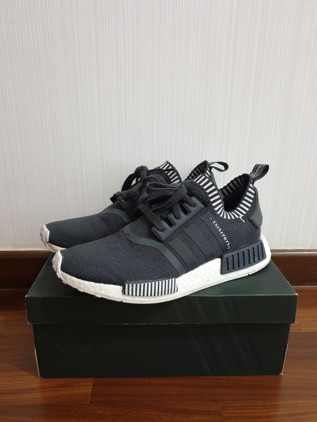 cf1680bbc Adidas NMD R1 PK Japan Grey