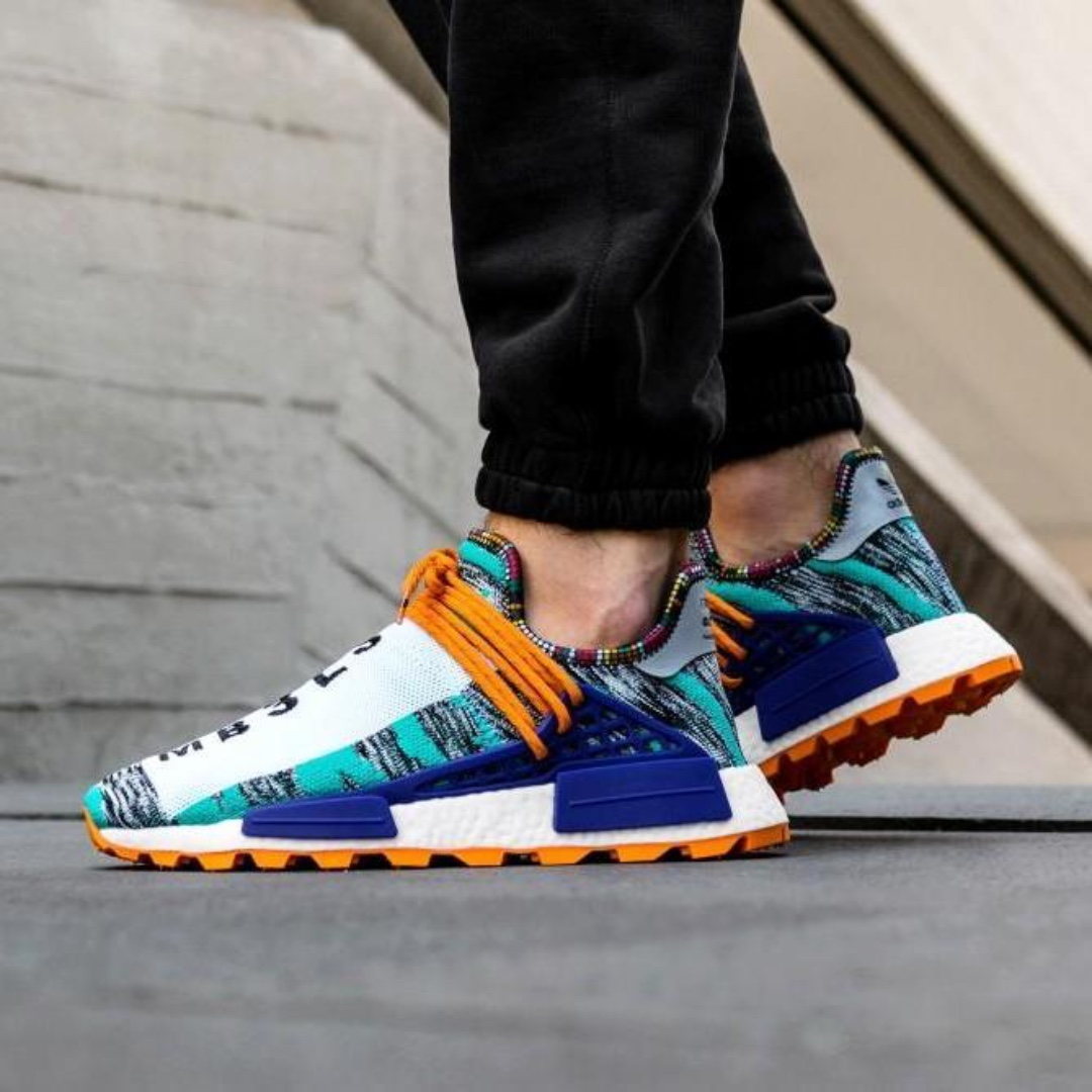 c76f7f2c8 Adidas Originals x Pharrell Williams Afro Solar HU NMD (Hi-Res Aqua ...