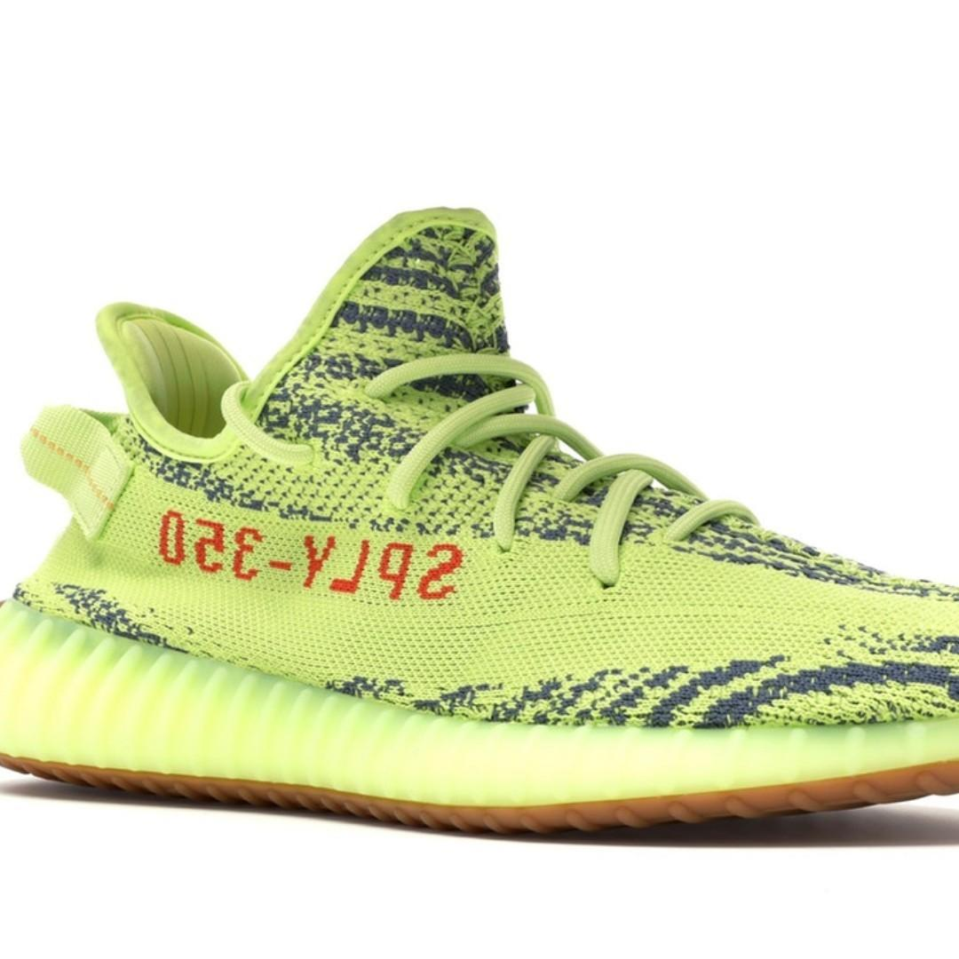 separation shoes a4fc4 49ebd Adidas Yeezy Boost 350 Vs2 Semi Frozen Yellow, Women's ...