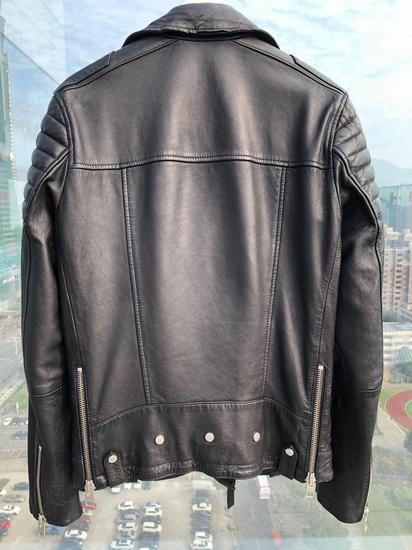 AllSaints Kane Leather Biker Jacket