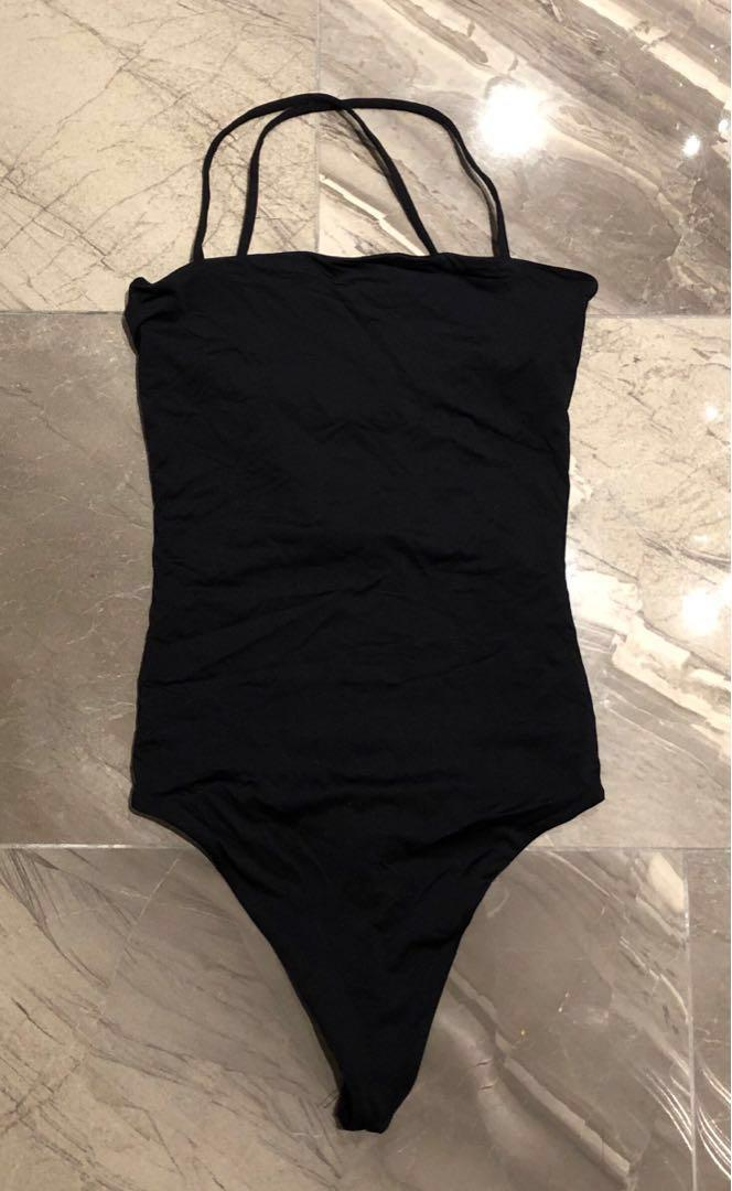 Aritzia Black Body Suit