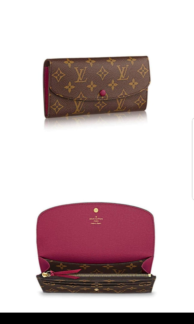 fa525b2cda65e AUTHENTIC - Louis Vuitton Emilie Wallet
